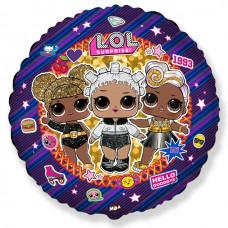 Круг Куклы LOL