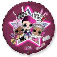 Круг Куклы LOL Рок-звезда