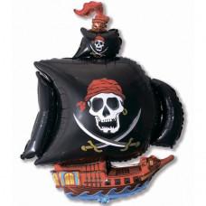 Фигура Пиратский корабль (черный)